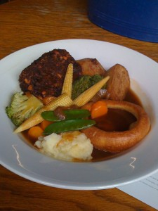 The White Horse, Vegetarian Sunday Roast
